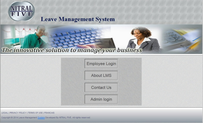 Online Leave Management System